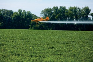 custom aerial spraying in Minnesota