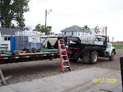 water trailer for rent in Fargo ND for chemical application